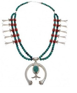 About the Navajo Squash Blossom Necklace